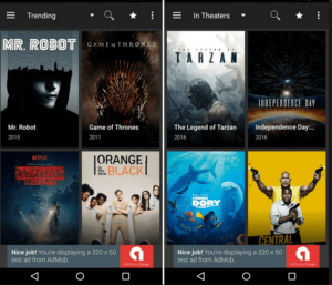 Download Movies and TV Shows from Terrarium TV App in your