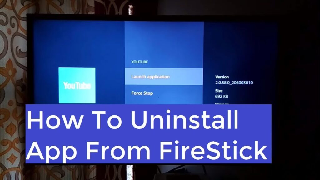 Uninstall Apps On Amazon Fire Stick